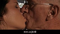 Porn older men with one woman