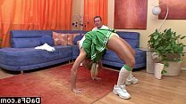 Hot blowjob cheerleader