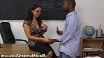 Hairy interracial gangbang