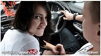 Young amateur nude car