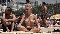 Sexy naked girls on beach hd
