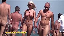 Nude beach couple big dick