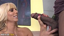 Milf first black cock